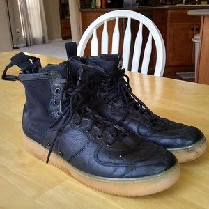 Nike Air Force 1 Special Field AF1 Mid Black Shoes